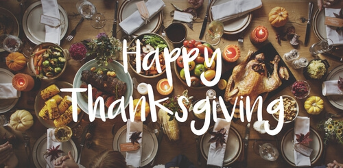 Happy Thanksgiving from Etrafficers, Inc.